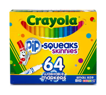 64 ct pip-squeaks mini-markers 2-pack (128 total)*